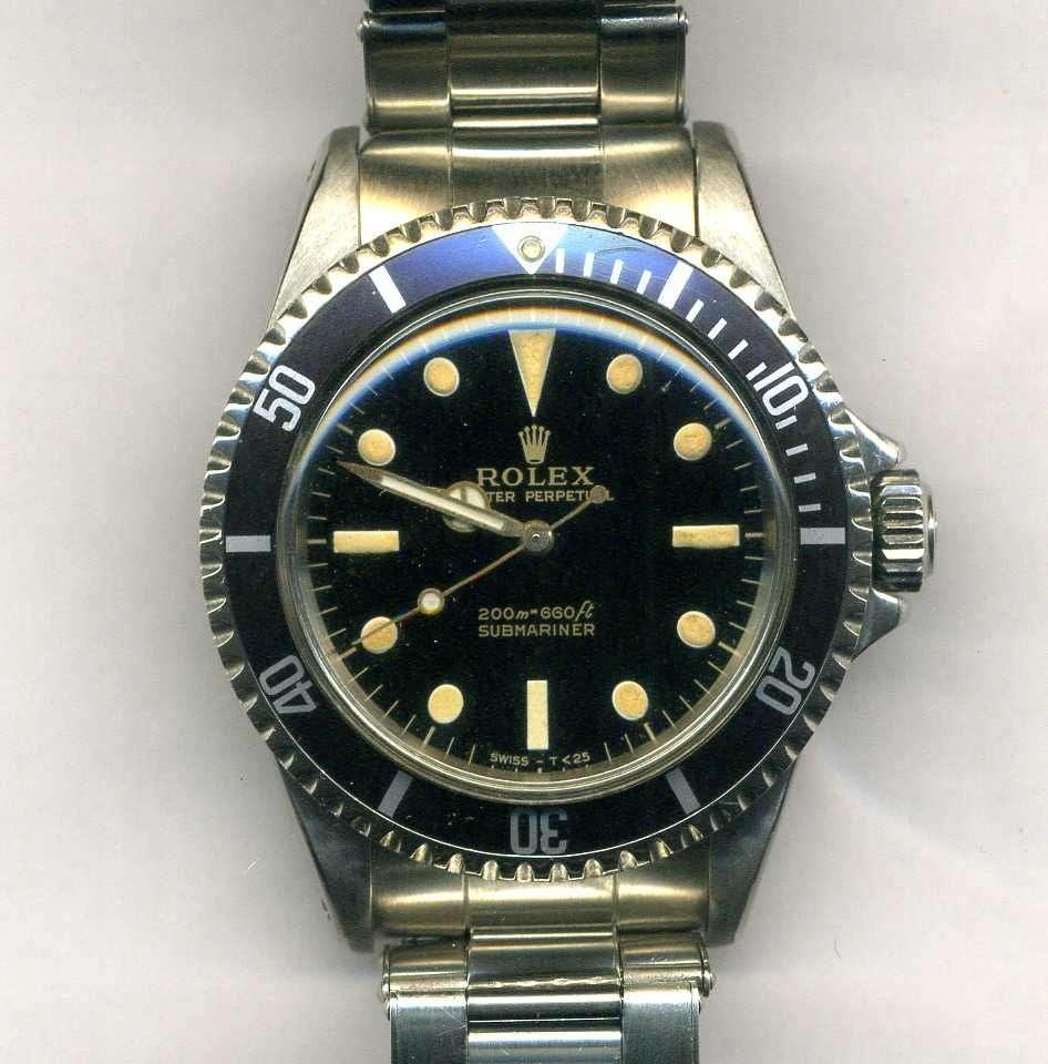 Rolex Submariner Guilt Dial for sale